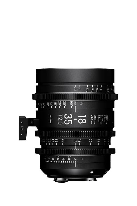 Sigma 18-35mm T2 Cine Lens for PL Mount