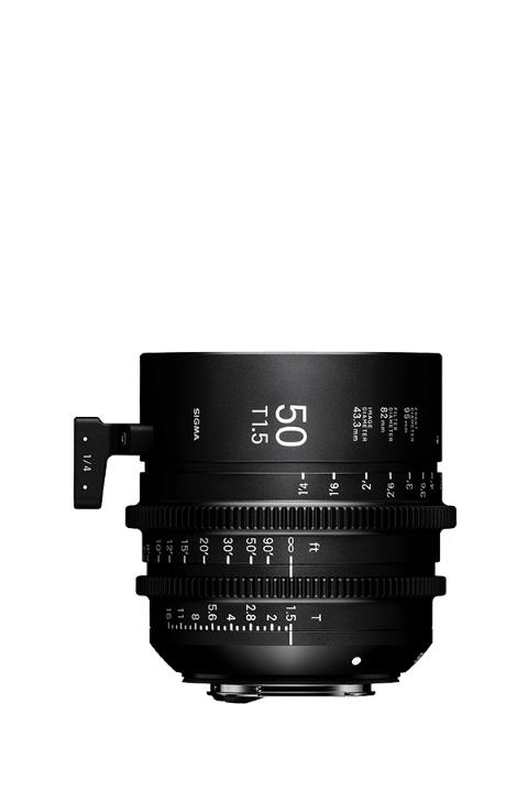 Sigma 50mm T1.5 Cine Lens for Canon EF Mount