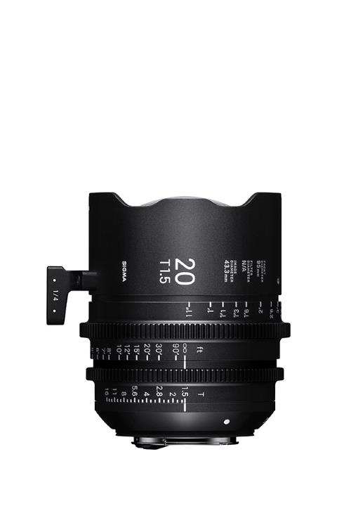 Sigma 20mm T1.5 Cine Lens for Sony E-Mount