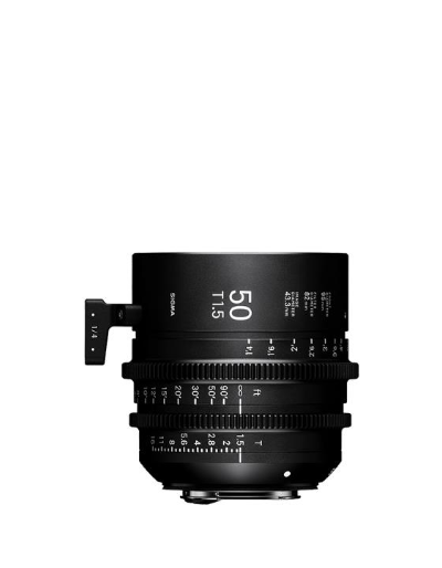 Sigma 50mm T1.5 Cine Lens for Sony E Mount