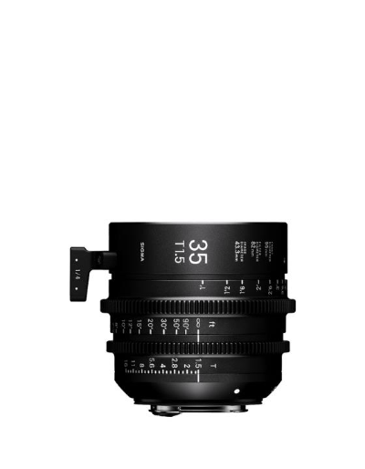 Sigma 35mm T1.5 Canon EF Mount Cine Lens Fully Luminous Feet