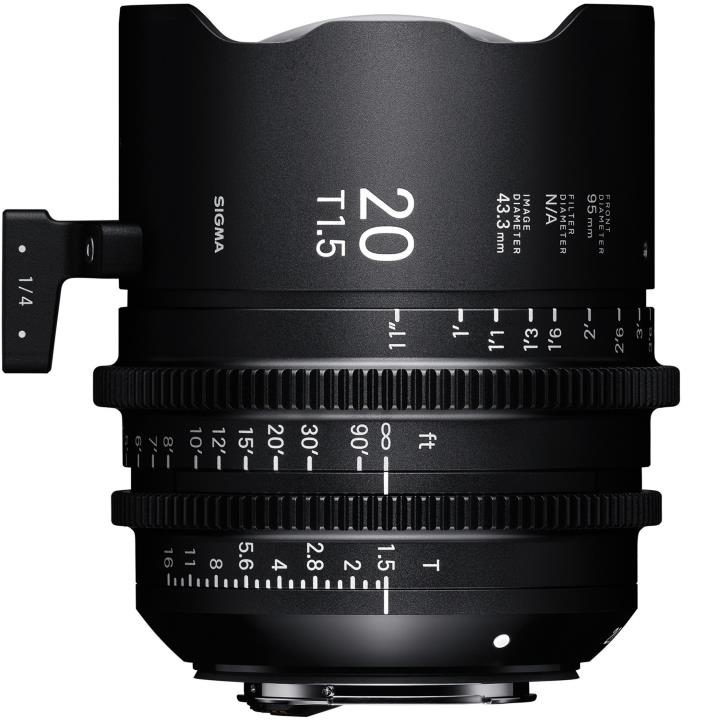 4412967 - Sigma 20mm T1.5 Sony E Mount