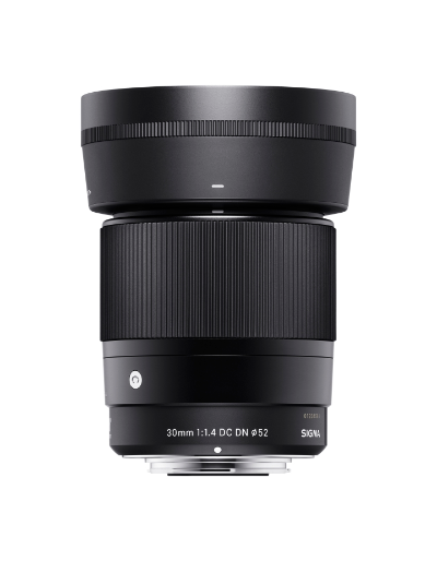 Sigma 30mm f/1.4 DC DN Contemporary Lens for Sony (E-Mount)