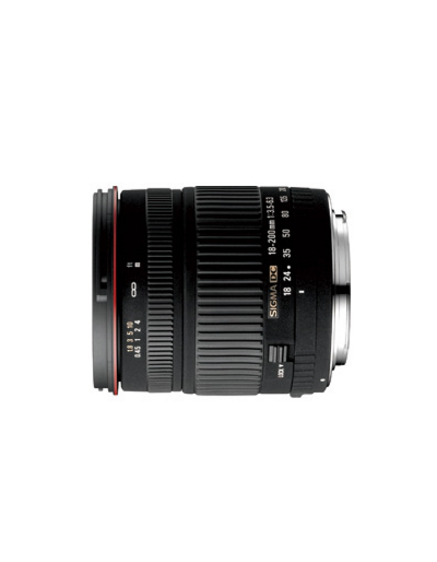 Sigma 18-200mm f/3.5-6.3 DC for Sigma**